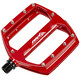 Red Cycling Products Flat Pedal Pedali AL rosso
